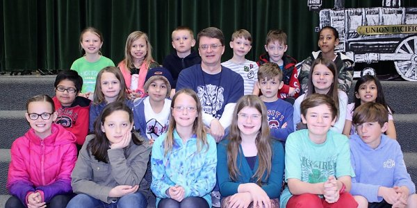 Group photos of spotlight students