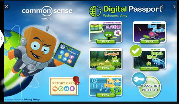 Internet Safety Digital Passport logo