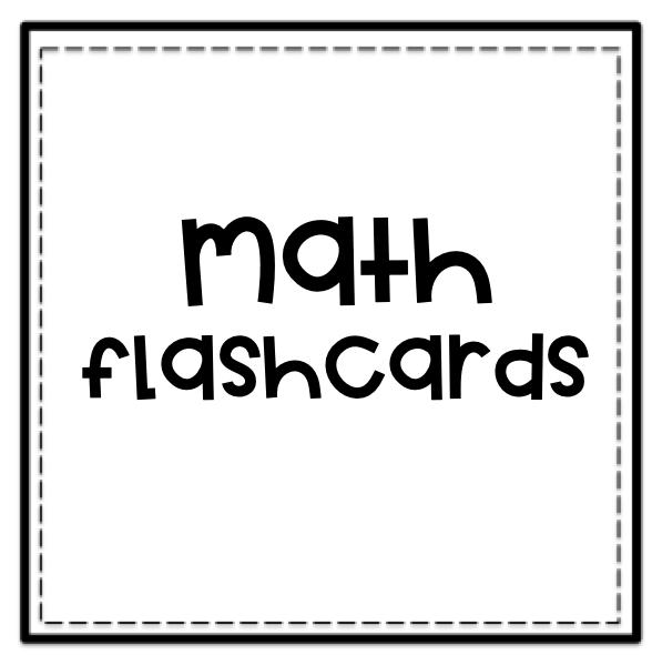 Math Flashcards logo